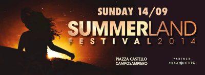 SUMMERLAND FESTIVAL 2014
